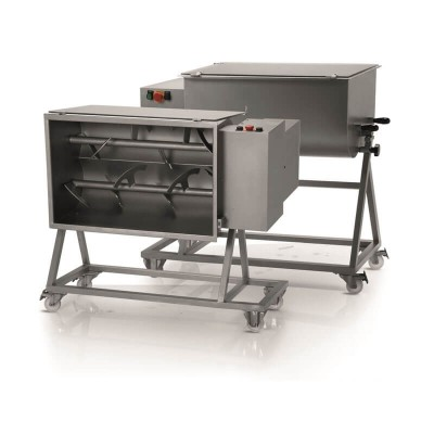 Professional 50Kg single-blade professional dough mixer with trolley. FIC50M - Fame industries