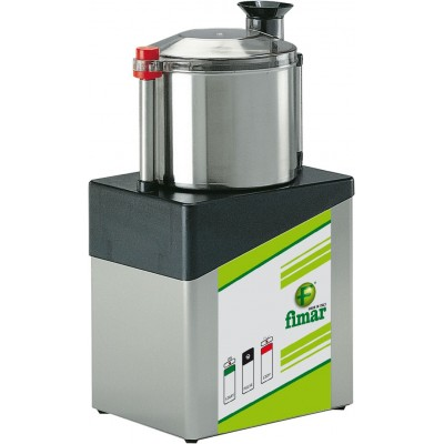 Professional cutter with vertical extractable 8Lt. basin. CL/8 - Fimar
