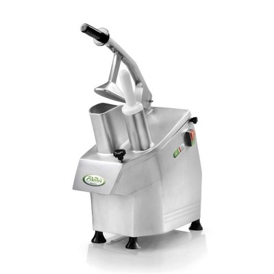 Professional Vegetable Cutter TV25K in Aluminium and Magnesium. 550W. Removable. 5 discs included - Fama industries