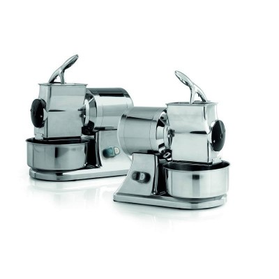 Professional electric GSD grater with right mouth for making bread and cheese - Fame industries