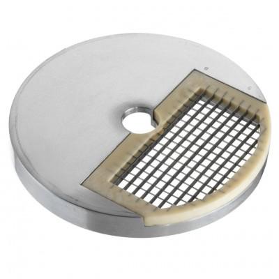 Disco per Cubettare NPD. Spessore 8x8x5 mm .Acessorio per Tagliamozzarella serie TAC - Fimar