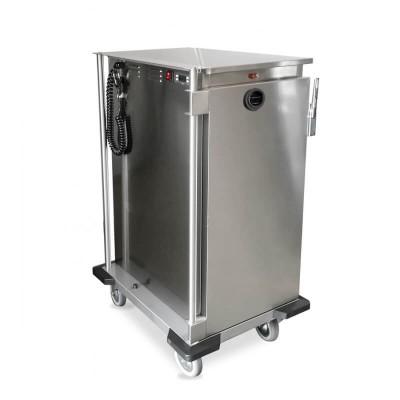 Carrello armadiato riscaldato per GN 1/1 Thermovega C16 per il trasporto di vivande calde