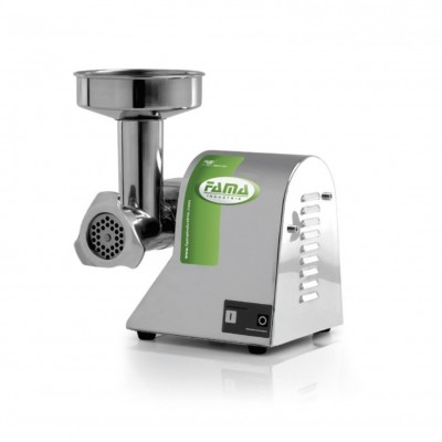 Semi-professional stainless steel meat grinder. TI8 - Fame industries