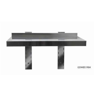 Mensola in acciaio Inox 60x40cm, mod. GDWBS1R64
