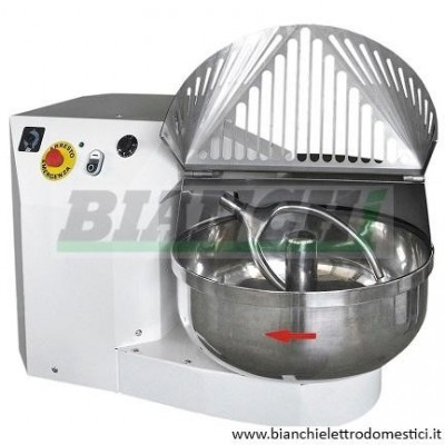 Professional fork kneading machine for bread and pizza, capacity 30 Kg - Bianchi