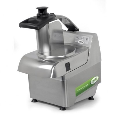 Professional Stainless Steel Vegetable Cutter. 580W. Removable. Digital controls - Fama industries