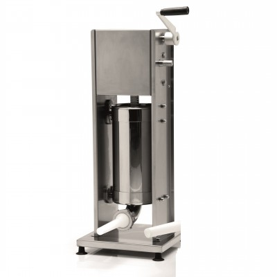Professional vertical 7 lt L7V series stainless steel 2-speed vertical bagging machine. FIN103 - Fame industries
