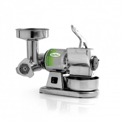 Meat grinder-Grater for semi-professional use. TG8 - Fame industries