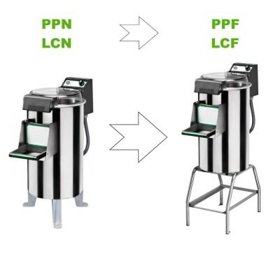 Kit di trasformazione cavalletto per pelapatate o puliscicozze Fimar da PPN / LCN in PPF / LCF - Fimar