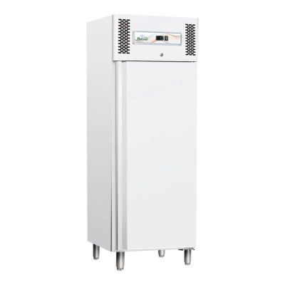 Professional static refrigerator with stainless steel frame. GN600TN