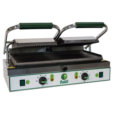 Double electric plate with cast iron surface - Fimar
