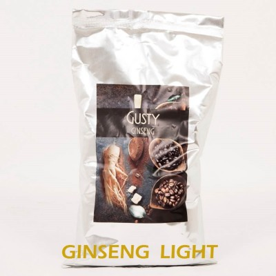 10 Kg Ginseng LIGHT coffee. 100% Vegetable Gluten and Lactose Free. 10 bags of 1 Kg - Gusty