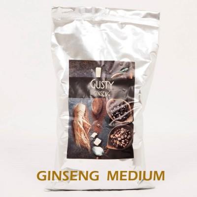 3 Kg Caffè al Ginseng MEDIUM 100% vegetale senza Glutine e Lattosio. Certificazione Halal. 3 buste da 1 Kg - Micadore