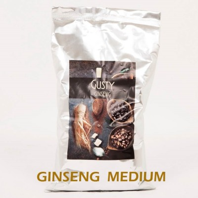 10 Kg MEDIUM Ginseng Coffee 100% vegetable Gluten and Lactose Free, Halal certified. 10 bags of 1 Kg - Gusty