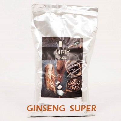10 Kg SUPER quality Ginseng coffee, 100% vegetable Gluten and Lactose free. No. 10 bags of 1 Kg - Gusty