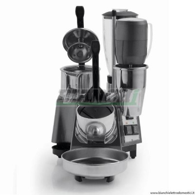 MG50 Multifunctional Proffesional Bar Group with Ice Crusher, Juicer, Blender and Whisk. - Fame industries