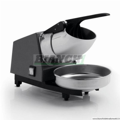 MTG6 Professional ice crusher Ideal for slush. Steel blades and Power 340 W - Fame industries