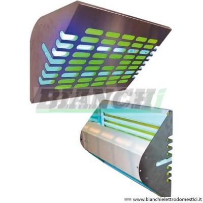 Elettroinsetticida copertura 80mq. Montaggio muro o sospensione - Forcar