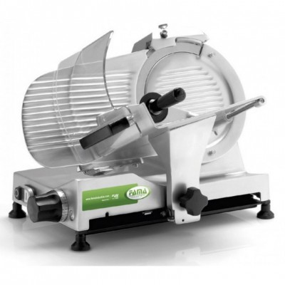 Luxury series gravity slicer with Ø 250 mm blade for professional use. - Fame industries