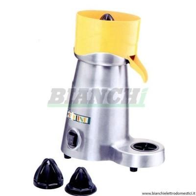 SM-CJ5 professional electric juicers in satin aluminium alloy and plastic. - Fimar