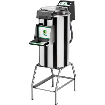 Stainless steel mussel washer with stand and capacity 10 Kg. Model: LCF/10M - Fimar