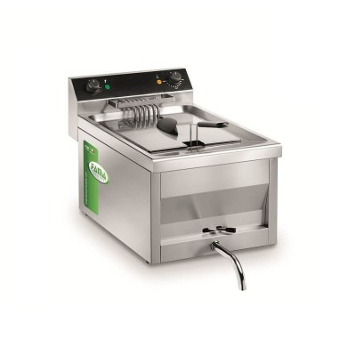 Professional 12 litre deep fryer with tap -