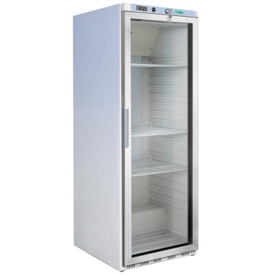 Refrigerator cabinet 350 Lt. with glass door 2 8°C. H 185,5 cm - Forcar