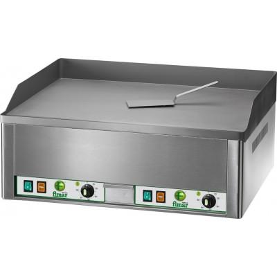 Electric FryTop countertop with mild steel top. Model: FRY2