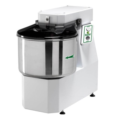 Spiral kneading machine with fixed head, 12 kg bowl. 12SN - Fimar