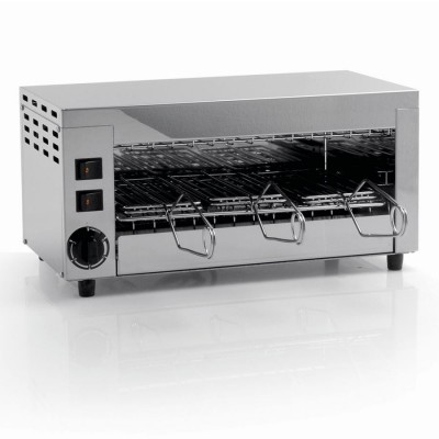 Professional stainless steel oven with 3 pliers. Q6 - Fame industries