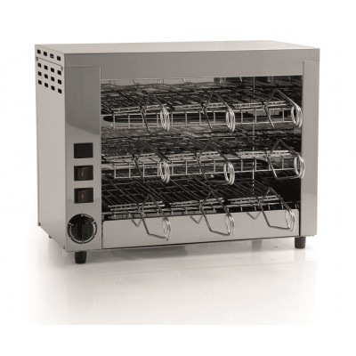 Professional stainless steel oven with 9 pliers. Q18 - Fame industries