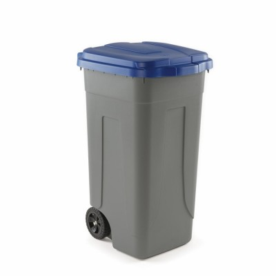 Trash can polyethylene with coloured lid for separate waste collection. 100 litres - Forcar