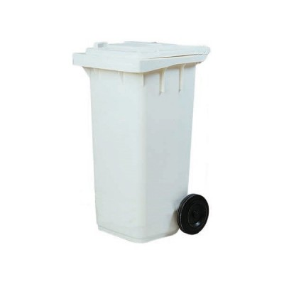 Dustbin made of 120 litres of different colours for selective collection. - Forcar
