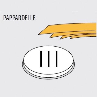 Trafila formato PAPPARDELLE per macchina pasta fresca Fimar MPF 1,5N - Fimar