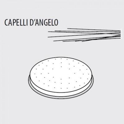 Trafila formato CAPELLI D'ANGELO per macchina pasta fresca Fimar MPF 1,5N - Fimar