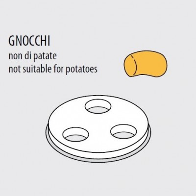 Trafila formato GNOCCHI per macchina pasta fresca Fimar MPF 1,5N - Fimar