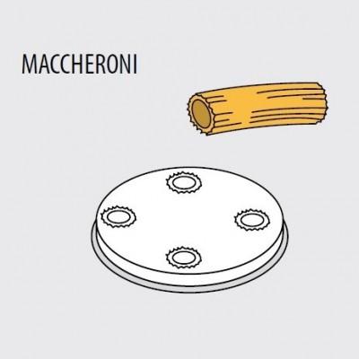 Trafila formato MACCHERONI 8,5 per macchina pasta fresca Fimar MPF 1,5N - Fimar