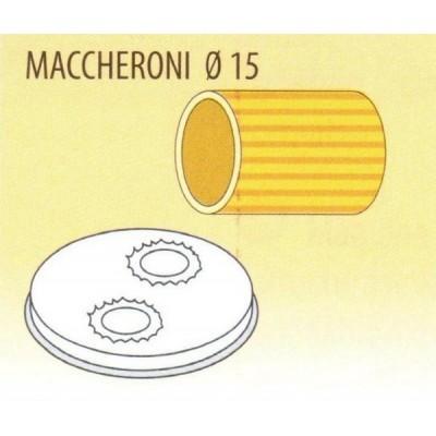 Trafila formato MACCHERONI 15 per macchina pasta fresca Fimar MPF 1,5N - Fimar