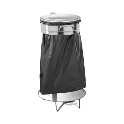 Dustbin waste bag holder large. stainless steel lid and pedal. AV4681 - Forcar