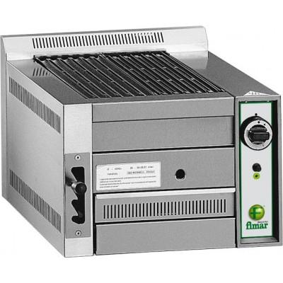 Griglia A Pietra Lavica 1 B50 Potenza 8,5 KW Alimentazione Metano o GPL Dim. L 49 X P 80 X H 38 Cm - Fimar
