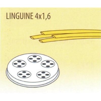 Trafila formato LINGUINE 4X1,6 per macchina pasta fresca Fimar MPF 1,5N - Fimar