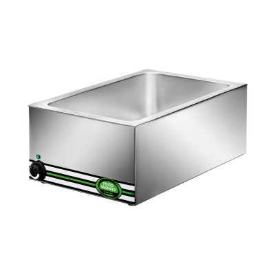 Hot GN 1/1-the-counter bain marie stainless steel 1200 Watts BM7700 - Forcar