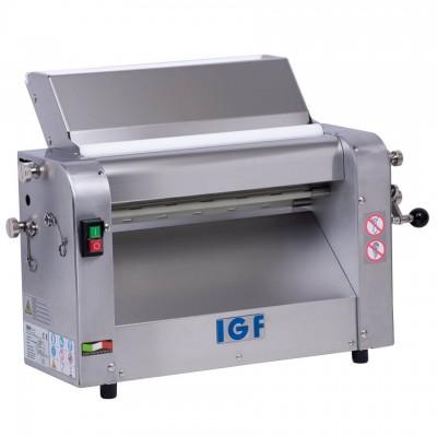Super dough Sheeter Laminator electric professional, double mouth 3200/LM32 - IGF Fornitalia