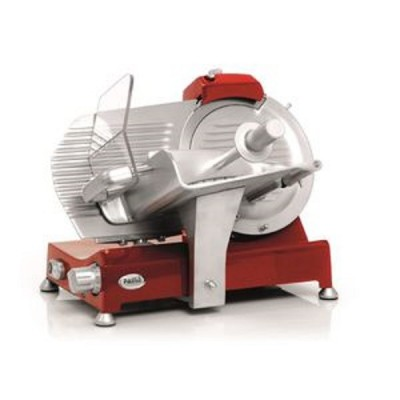 Gravity slicer with Ø 220 mm blade for professional use. Retro aesthetics. - Fame industries
