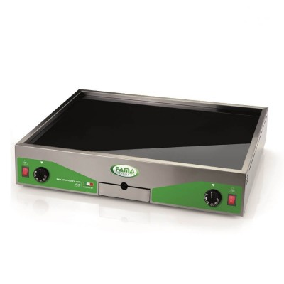 Fry Top Electric Glass Ceramic. Cooking surface 40x60. PFT4060V - Fame industries