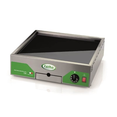 Fry Top electric glass ceramic bench top. Model: PFT3040V - Fame industries