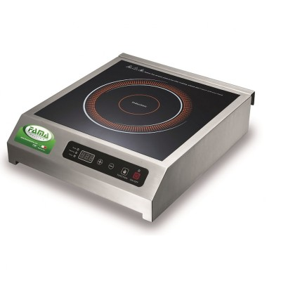 PIN02 1.8 kW touch control induction plate with timer. - Fame industries