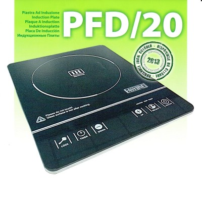 PFD/20 2kW induction plate with timer. inductive surface 22 cm. - Fimar