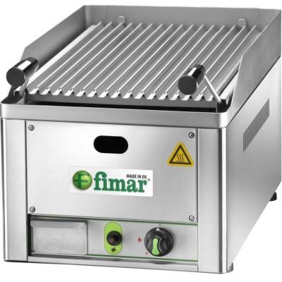 Lava stone countertop grill GL/33. 33x54 cm. Methane or LPG feeding - Fimar