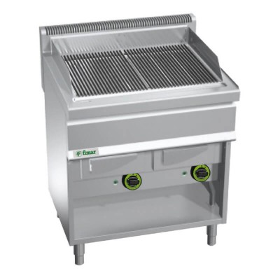 Combined grill with water, methane/LPG supply. Model: GW/80 - Fimar